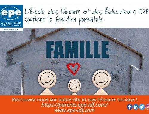 L'EPE-IDF soutient la fonction parentale