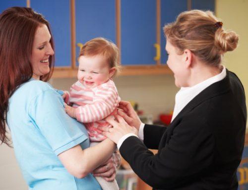 Les premières séparations avec bébé