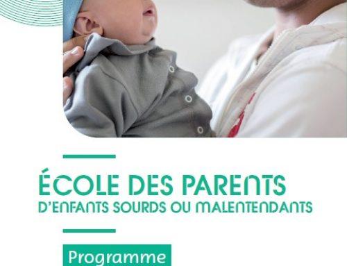 Nouveau programme pour les parents d'enfants sourds ou malentendants